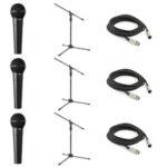 3 behringer mic